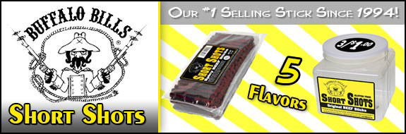 Buffalo Bills Short Shots - #1 Selling Beef Jerky Since 1994!