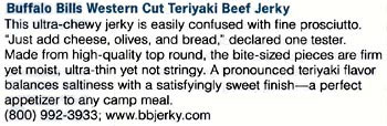 Product Reviews – Western Cut Teriyaki Beef Jerky