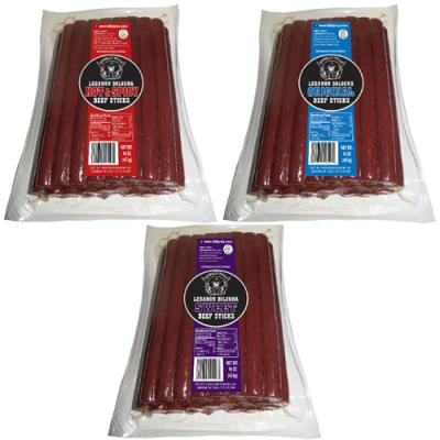 Buffalo Bills Lebanon Bologna Sticks - 1-lb Packs