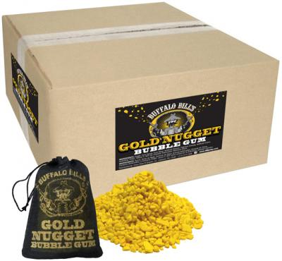 Buffalo Bills Gold Nugget Bubble Gum - 320-Ct Cases