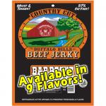 Buffalo Bills Country Cut Beef Jerky Packs - 3oz