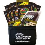 Buffalo Bills 12-Piece HOT & SPICY LOVERS Beef Jerky & Beef Stick 6-Pack Gift Coolers