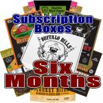 Buffalo Bills Beef Jerky Subscription Boxes - 6 Months