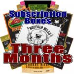 Buffalo Bills Beef Jerky Subscription Boxes - 3 Months
