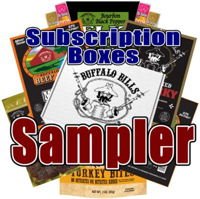 Buffalo Bills Beef Jerky Subscription Boxes - Sampler
