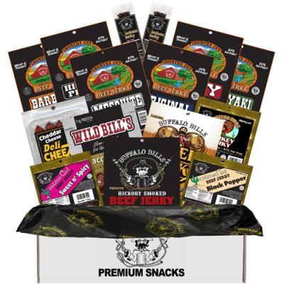 Buffalo Bills LOW CARB Jerky & More Gift Boxes