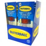 Butterball Honey Cured 1oz Turkey Sticks - 20-Ct Box