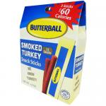 Butterball Smoked Turkey Snack Sticks - 4.2oz Box