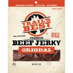 Trail's Best Hickory Smoked Beef Jerky Packs - 3oz