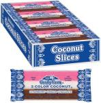 Coconut Slice Candy Bars - 24-Ct Boxes